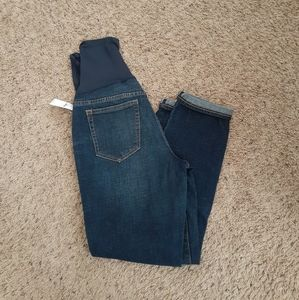 Gap over the belly girlfriend jeans 27